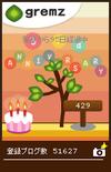 3rd Anniversary夕方(グリムス観察日誌)