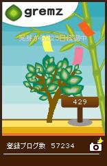 発芽から225日経過した6代目グリムス